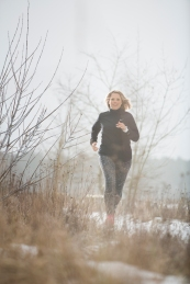 SandraSwiontek Brzezinski joggt für Runners World